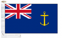 Royal Navy Royal Fleet Auxiliary Ensign Courtesy Boat Flags (Roped and Toggled)